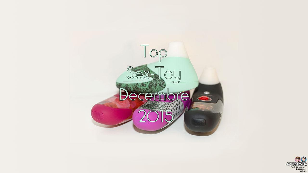 Top Sex-Toy Décembre 2015 sur 69desirs