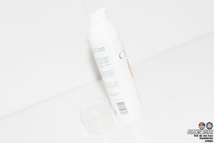gel de massage libertine cosmétique
