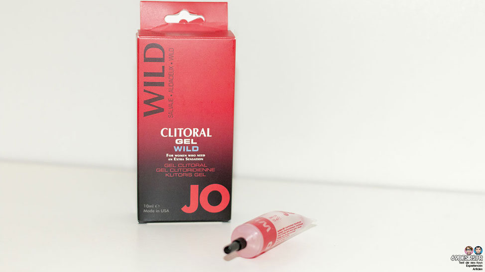Test du gel clitoridien stimulant JO