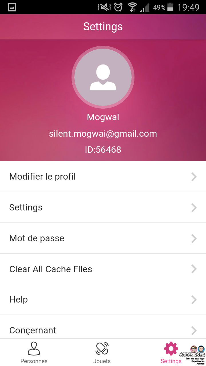 lovense-max-masturbateur-application-parametres