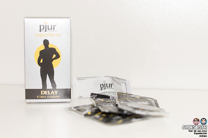 préservatifs pjur superhero