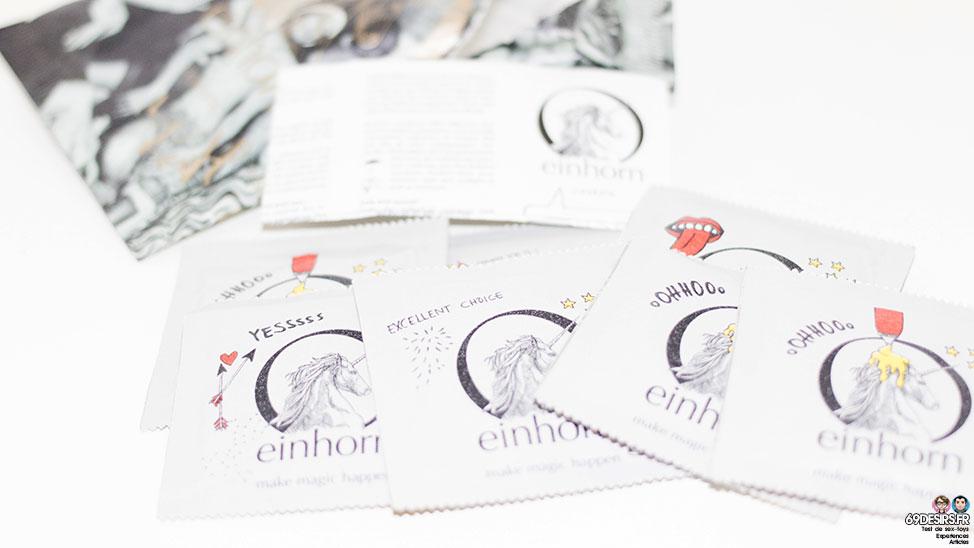 Test préservatifs vegan de Einhorn : Cheval écolo