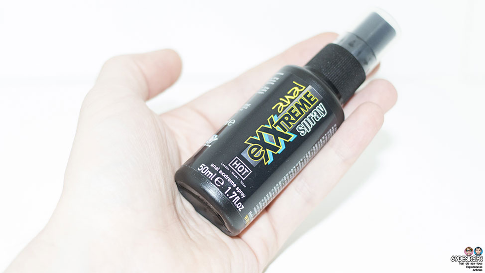 Test Spray anal relaxant Exxtreme : Décontractant anal