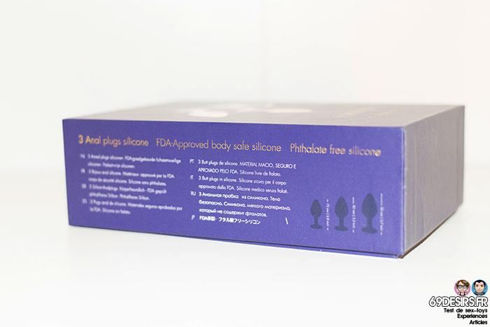 coffret plugs silicone 3