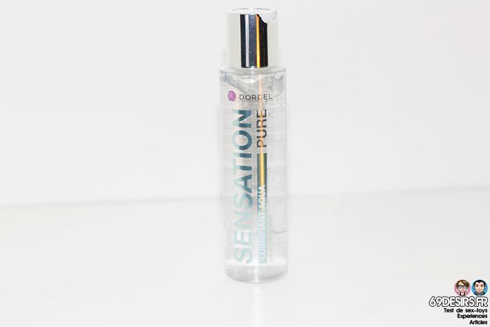 lubrifiant dorcel sensation à base d'eau - 1