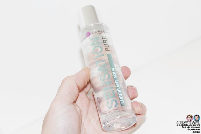 lubrifiant dorcel sensation à base d'eau - 5