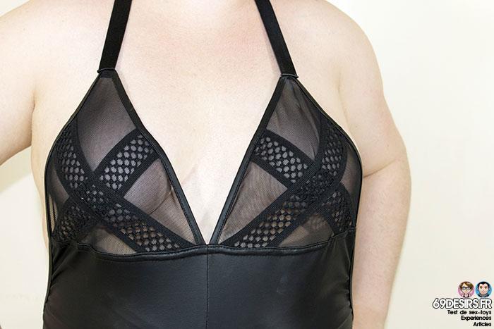 Body Promiscous Noir Handmade - 11