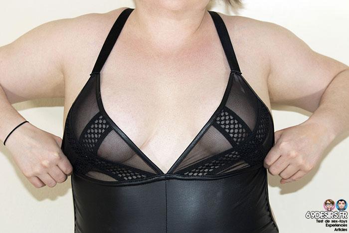 Body Promiscous Noir Handmade - 3