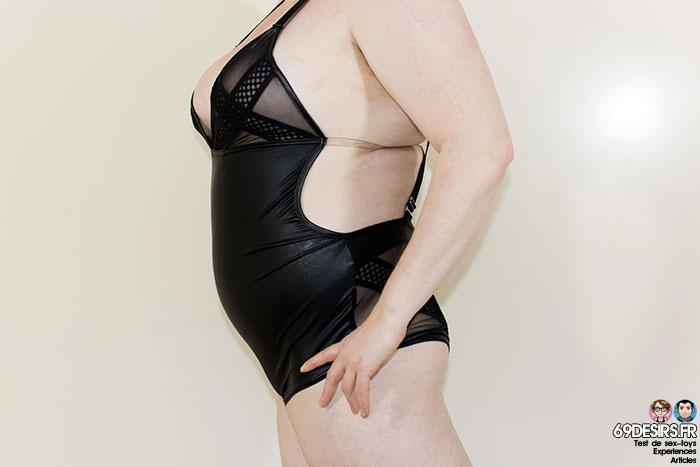 Body Promiscous Noir Handmade - 5