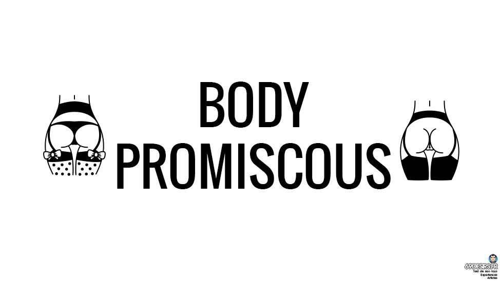 Body Promiscous Noir Handmade en simili cuir