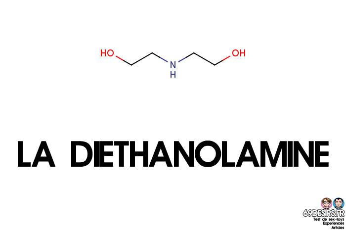 lubrifiants intimes et diethanolamine