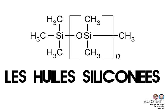 lubrifiants intimes et les huiles siliconées