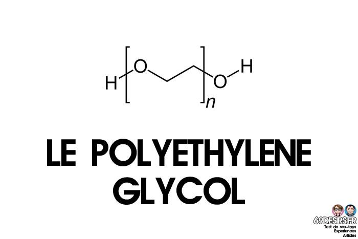 lubrifiants intimes et polyethlène glycol