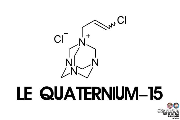 lubrifiants intimes et quaternium-15