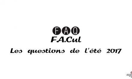 Les questions culs de l'été : F.A.Cul et FAQ
