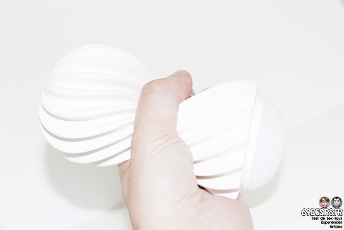 tenga flex silky white - 12