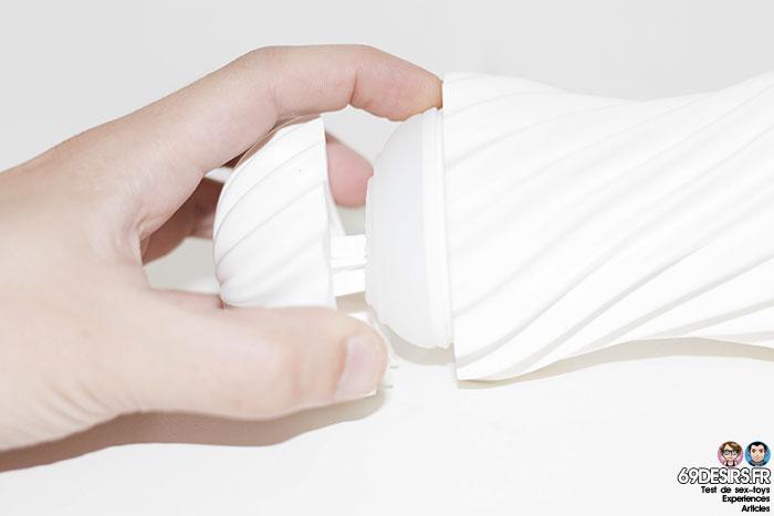 tenga flex silky white - 8