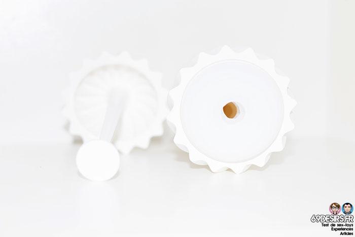 tenga flex silky white - 9