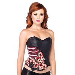sextoys d'halloween - corset sans entrailles