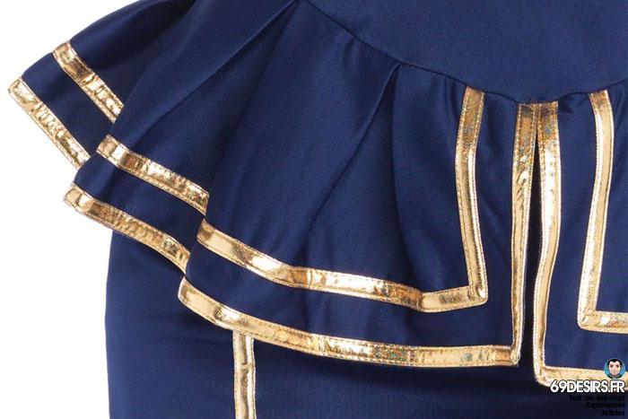 costume hôtesse de l'air leg avenue - 5
