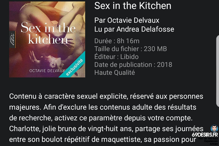 sex in the kichen audible - 3