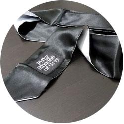 accessoires bdsm - bandeau fifty