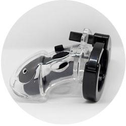 accessoires bdsm - cage de chasteté Mystim