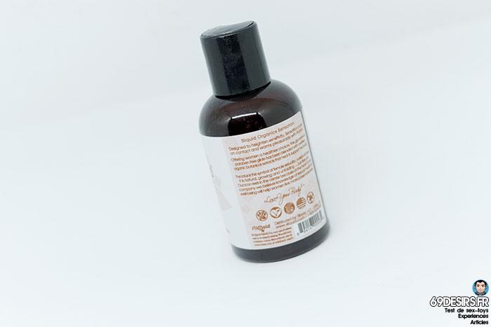 lubrifiant sliquid organics sensation - 2
