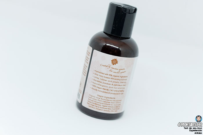 lubrifiant sliquid organics sensation - 3