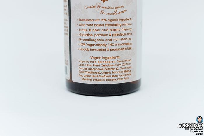 lubrifiant sliquid organics sensation - 8