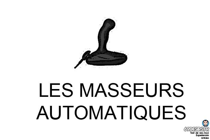 choisir son premier sextoy - masseurs automatiques