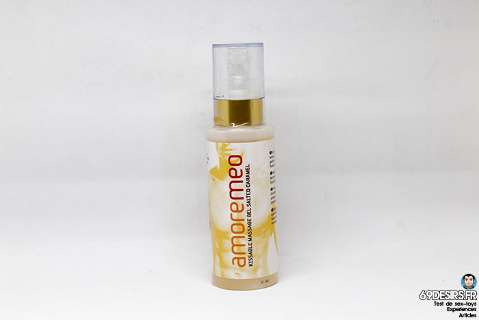 gel de massage amoremeo salted caramel - 1