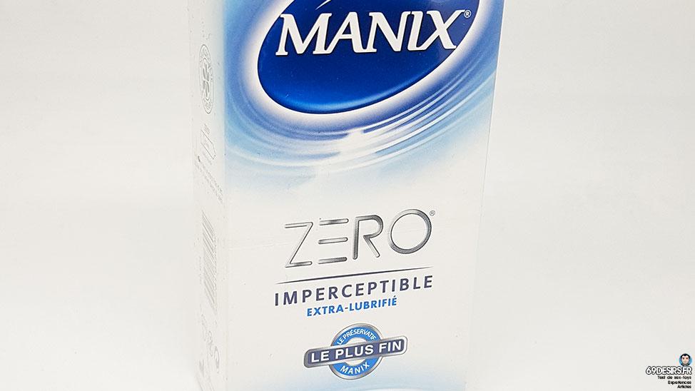 Test des préservatifs Manix Zero