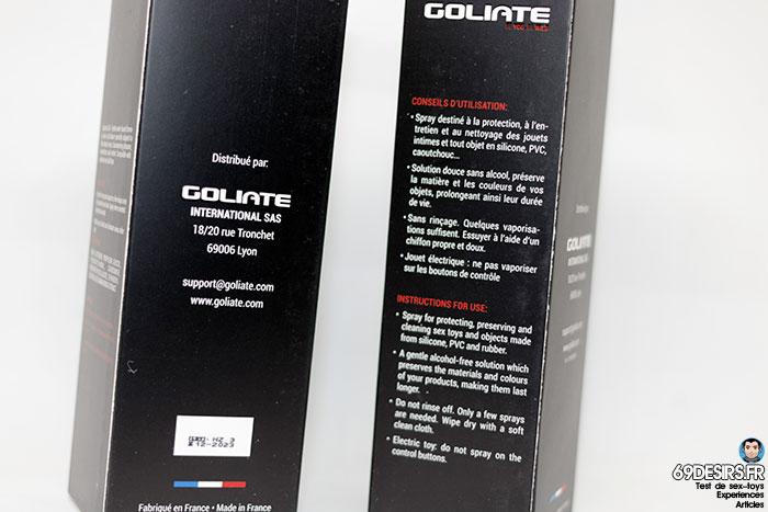 lubrifiant goliate nettoyant sextoy - 4