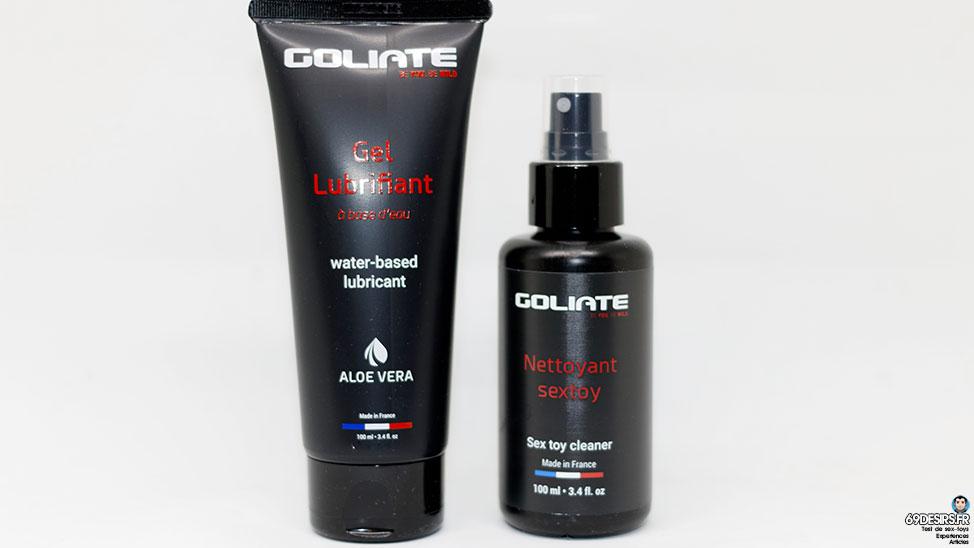 Test du lubrifiant Goliate et son nettoyant