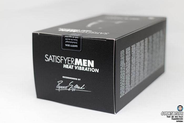 satisfyer men heat vibration - 3