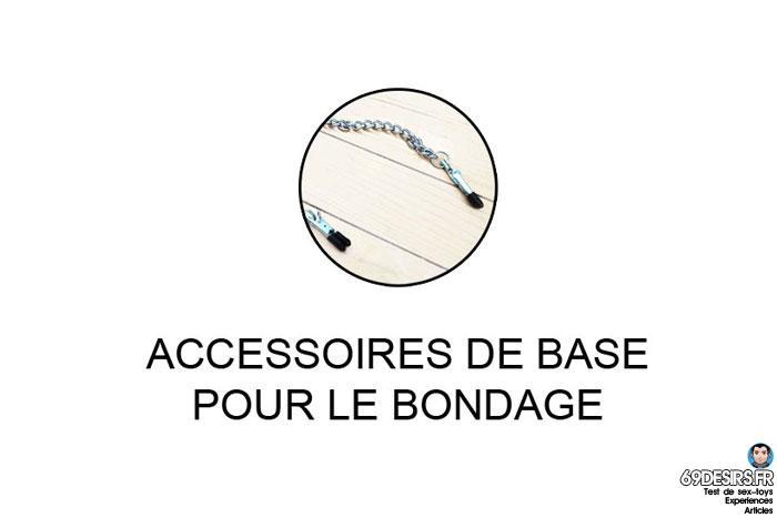guide des accessoires pour le bondage