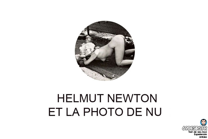 helmut newton et la photo de nu