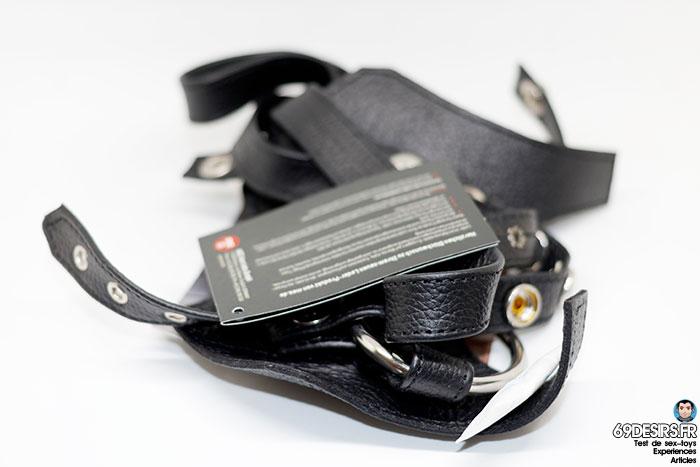 harnais gode ceinture de chasteté meo - 2