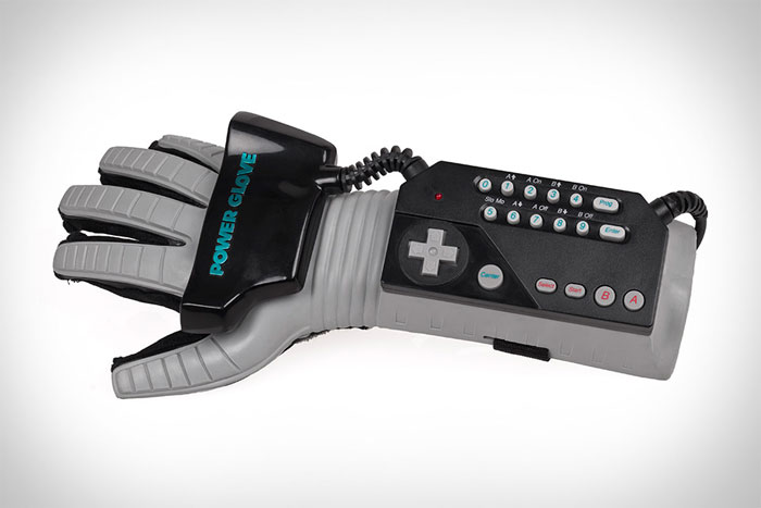 Power glove de Nintendo