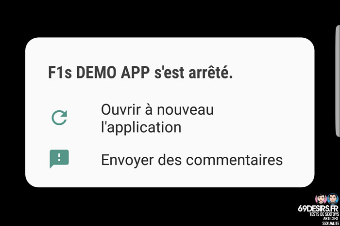 App Lelo F1s demo app - 4