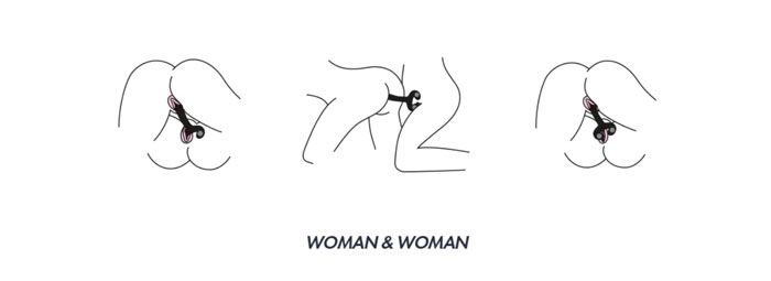 utilisation femme avec femme