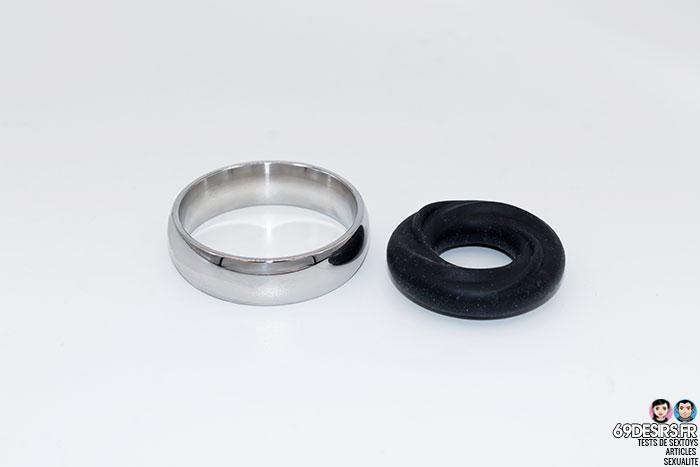cockring en silicone liquide - 9