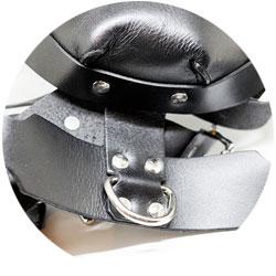 accessoires bdsm - harnais de tête