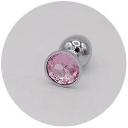 plug anal métallique lovehoney - sex-toys en acier