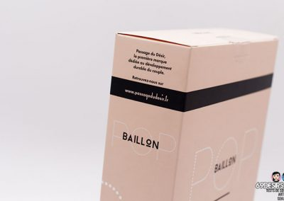 bâillon-boule pop - 2