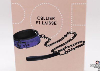 collier et laisse pop - 1