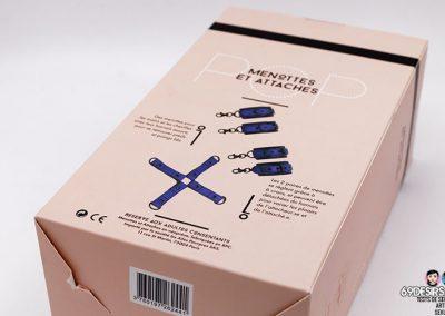 menottes chevilles poignets pop - 3
