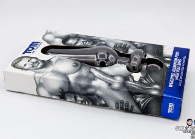 Plug aluminium Tom of Finland - 3