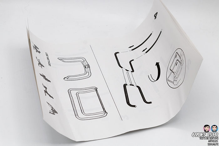 chaise de position bondage boutique - 1